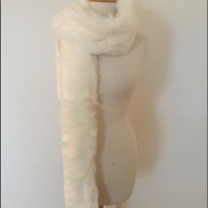 """Accessories - BRAND NEW FAUX FUR SCARF/WRAP-72"""" LONG!!!"""